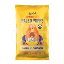 LESSER EVIL, PALEO PUFFS, OG2, NO CHEESE, Pack of 9, Size 5 OZ – No Artificial Ingredients Gluten Free Low Sodium Vegan Wheat Free Yeast Free 95%+ Organic