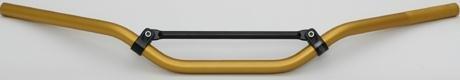 Renthal 7/8 Handlebars - RENTHAL 7/8 HANDLEBAR ROAD BARS STREET FIGHTER GOLD