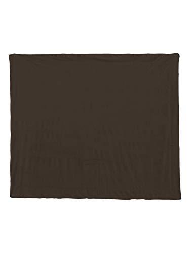 Liberty Bags - Alpine Fleece Micro Mink Sherpa Blanket - 8712-Chocolate
