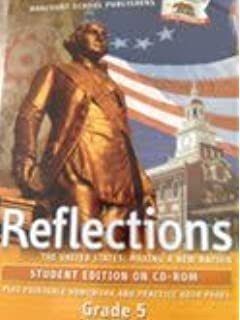 Harcourt school publishers reflections california homework reflections grades 5 united states making a new nation fandeluxe Gallery