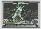 2004 Topps World Series Highlights (Whitey Ford (Baseball Card) 2004 Topps - World Series Highlights #WS-WF)