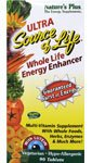 Ultra Source of Life Whole Life Energy Enhancer Multi-Vitamin Nature's Plus 90 Tabs Ultra Source Of Life
