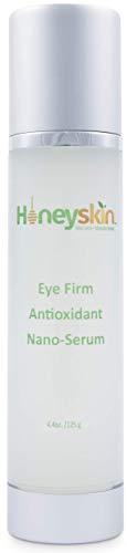 Hyaluronic Acid Face Eye Serum with Manuka Honey and Aloe Vera - Anti Aging & Antiseptic - Wrinkle, Spots & Hyperpigmentation Treatment (4.4oz)