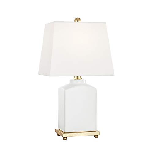 "Mitzi Brynn 17"" High Cloud White Porcelain Accent Table Lamp"