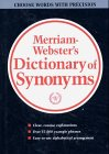 Websters New Dictionary Of Synonyms  A Dictionary Of Discriminated Synonyms With Antonyms And Analogous And Contrasted Words
