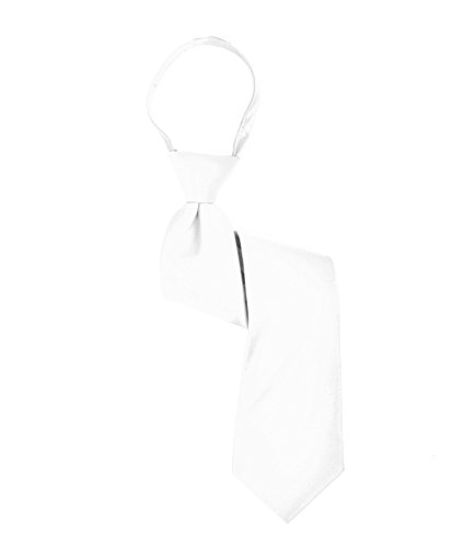 Boys solid tie (14in,