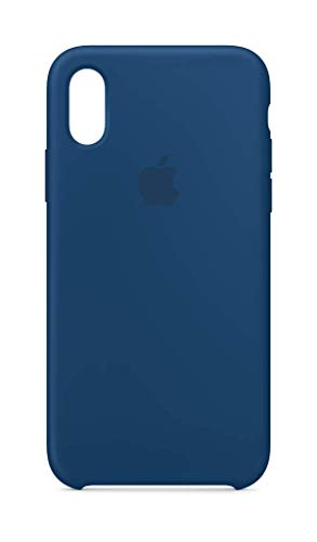 Horizon Case - Apple Silicone Case (for iPhone Xs) - Blue Horizon