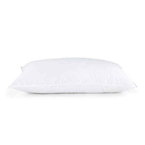 DOWNLITE Luxury White Hypoallergenic EnviroLoft Down Alternative Hotel Style Bed Pillow Promotion - Medium Density - Sold Individually - Standard Size 20