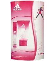 Adidas Fruity Rhythm by Coty Eau de Toilette and Shower Gel Fragrance Gift Set (Adidas Gift Set Body Wash)