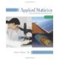 Applied Statistics for Engineers and Scientists by Devore, Jay L., Farnum, Nicholas R., Doi, Jimmy A. [Cengage Learning,2013] (Hardcover) 3rd edition [Hardcover]
