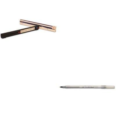41708210 Ribbon - KITBICGSM11BKOKI41708210 - Value Kit - Oki 41708210 Ribbon (OKI41708210) and BIC Round Stic Ballpoint Stick Pen (BICGSM11BK)