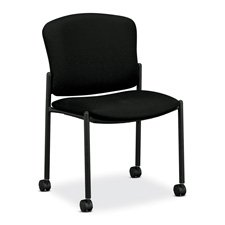 Hon Armless Mobile Guest Chairs - 1