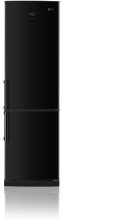 LG GB5135WBCW nevera y congelador Independiente Negro A+ ...