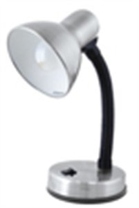 (Lloytron- L1105Bc - 40W Flexi Desk Lamp Brushed In)