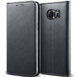 Galaxy S6 Case, Verus [Crayon Diary][Warm Gray] - [Leather Wallet][Kickstand][Slim Fit] For Samsung Galaxy S6