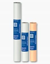 Sketch Paper Roll White 12 Inch X 50 Yard by STAEDTLER