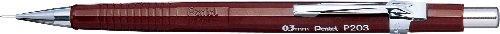 Pentel 0.3mm P200 Series Mechanical Pencil Lead with Brown Barrel (Series Mechanical Pencil)
