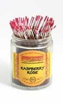 Raspberry Rose - Wild Berry Shorties Incense Sticks - 100