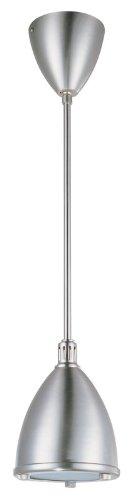 DVI DVP5508CH Crescent Metal Shade Mini Pendant Light ()