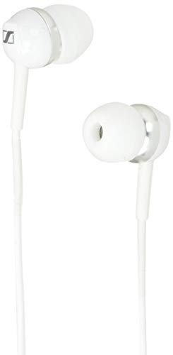 SENNHEISER CX 1.00 Ultra-Small in-Ear Headphones in White with 4 Size Ear Adaptors