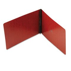 * PressGuard Coated Report Cover, Prong Clip, Legal, 2'' Capacity, Red *