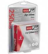 Iomega 250MB Zip Disk (4-Pack) by Iomega