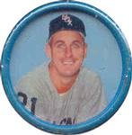 1963 salada tea coins (Baseball) Card# 42 Ray Herbert of the Chicago White Sox Ex Condition