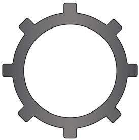 1-1//2 Internal Push-On Ring Stamped Pkg of 160 Spring Steel USA TI-150