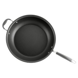 Premium Professional Quality Anolon Advanced Hard Anodized Nonstick 14-Inch Mega Skillet