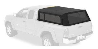Bestop 76301-35 Black Diamond Supertop for Truck Bed - 2014 Tacoma Camper Shell