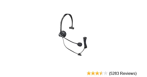 amazon com panasonic kx tca60 hands free headset with comfort fit
