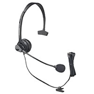 Panasonic KX-TCA60 Hands-Free Headset with Comfort Fit Headband for Use with Cordless Phones (B00007M1TZ)   Amazon price tracker / tracking, Amazon price history charts, Amazon price watches, Amazon price drop alerts