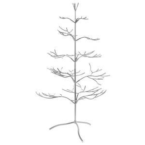 "Tripar Metal Ornament Display Tree and Jewelry Organizer - 36"" Wire Ornament Stand and Necklace Holder Décor with 5 Tiers of Branches, Perfect for Wrought Iron Trees Silver"