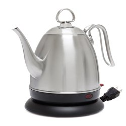 Chantal ELSL37-03M BRS Mia Ekettle Electric Kettle 32 oz Brushed Stainless ()