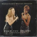 Mariah Carey & Whitney Houston - When You Believe (From The Prince Of Egypt) - Columbia - COL 666520 2, DreamWorks Records - COL 666520 2