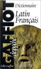 Le gaffiot de poche : dictionnaire latin-français par Gaffiot