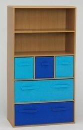4D Concepts Boy's Storage Bookcase, Beech - 4d Concepts Storage