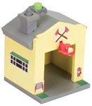 - Jay Jay The Jet Plane Wooden Adventure System - Revvin' Evan's Firehouse [Toy]