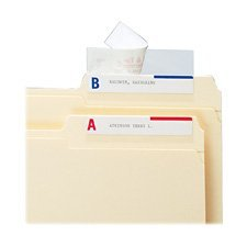 (Smead Seal & View File Folder Label Protector with Clear Laminate, 3-1/2 x 1-11/16 -100 per Pack Sold as 2 Packs of - 100 - / - Total of 200 Each)
