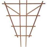 HEARTLAND HOME & GARDEN 32470 Espalier Trellis, 3-Feet, Redwood