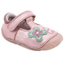 Hush Puppies Niñas Gert de zapatos de Prewalker Lentejuela Bowknot Rosa, para 4,5UK