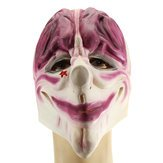 Allhallows Eve Cloak - Bank Robber Clown Halloween Mask Head Party Costume Decoration - Masque Block - -