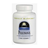 Policosanol, 10 MG, 120 Tabs by Source Naturals (Pack of 3)