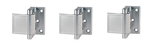 PEMKO PDL26D/15 Privacy Door Latch, Satin Chrome/Satin Nickel Finish, 1-1/2'' x 2-3/4'' Width, 2-3/16'' Height (3-(Pack)) by Pemko (Image #1)