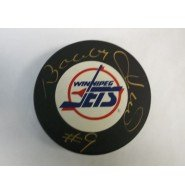 Signed Hull, Bobby (Winnipeg Jets) Winnipeg Jets Hockey Puck autographed