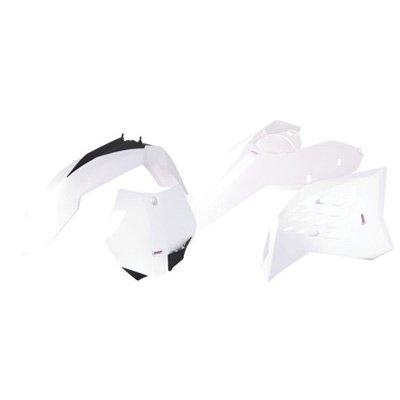 Polisport Complete Replica Plastic Kit White for KTM 250 SX 2007-2010