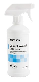 - McKesson Medi Pak Performance Wound Cleanser Multi Use Spray Bottle Latex Free - Model 61-69201