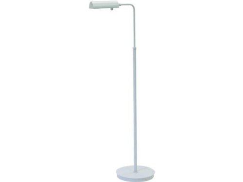 House of Troy G100-WT Generation 1LT Adjustable Floor Lamp, White Finish