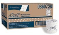 (6436070 PT# 13607 Tissue Toilet Scott 550 Sheet Per Roll 2 Ply Standard Wht 20RL/Ca Made by Kimberly Clark Professional)