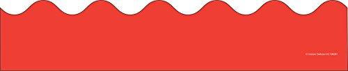Carson Dellosa Red Scalloped Borders (108281) ()